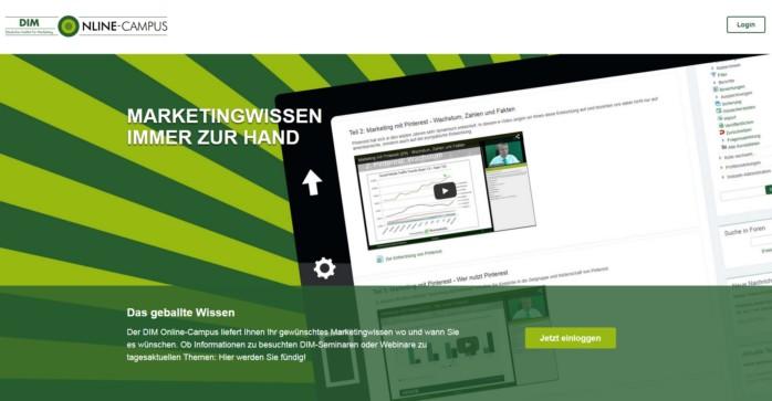 Mitarbeitertraining - DIM Online-Campus