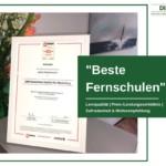 """Das Deutsche Institut für Marketing (DIM) erhält Auszeichnung in der Kategorie """"Beste Fernschulen"""""""