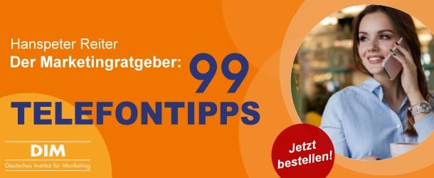 Hanspeter Reiter: 99 Telefontipps