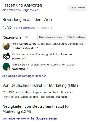 DIM Google MyBusiness 2