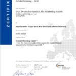 Die Weiterbildungen des DIM sind ab sofort AZAV und ISO 9001 zertifiziert!