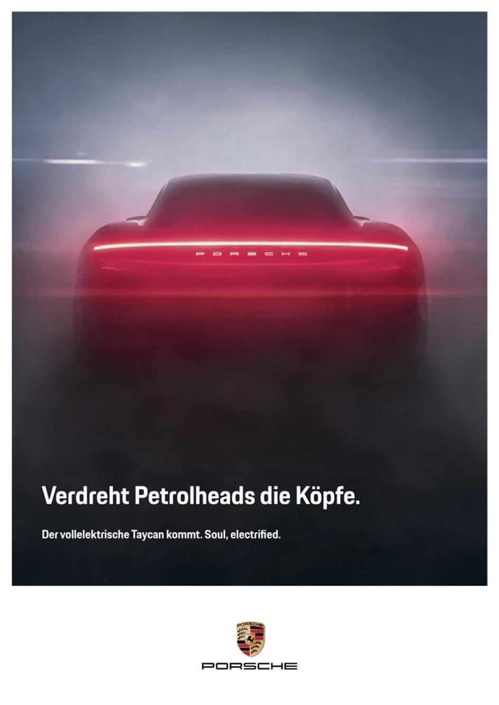 Werbeanzeige Porsche