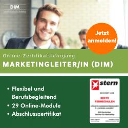 Marketingleiter Lehrgang
