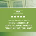 Dreifach-Erfolg: Das Deutsche Institut für Marketing erhält erneut Auszeichnungen als Weiterbildungsanbieter