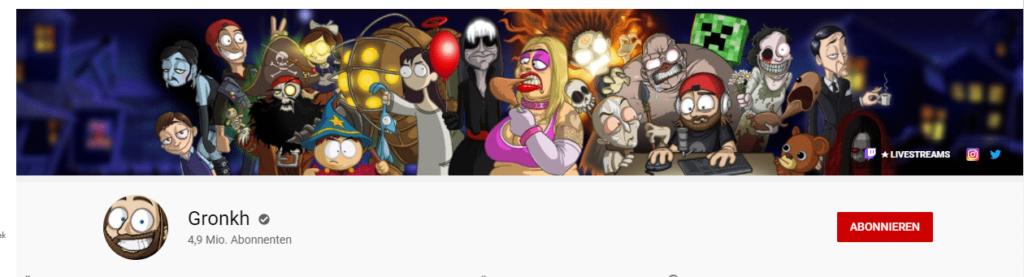 Gronkh YouTube