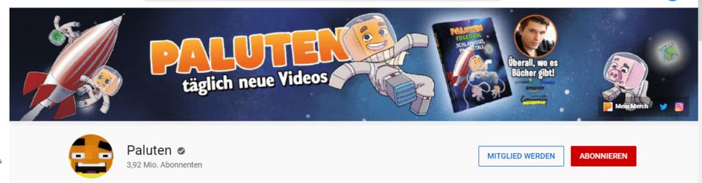 Paluten YouTube