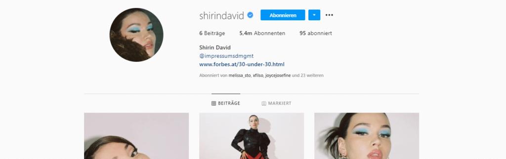 Shirin David Instagram