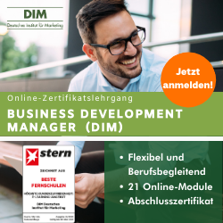Business Development Manager (DIM)