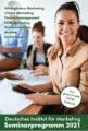 Neues Seminarprogramm 2021 – Deutsches Institut für Marketing