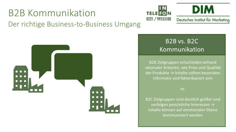 B2B Kommunikation