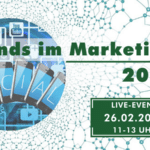 Live-Event: (Online-) Marketing Trends 2021 am 26.02.2021