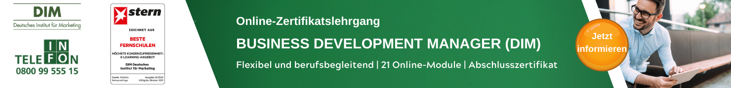 Business Development Manager DIM