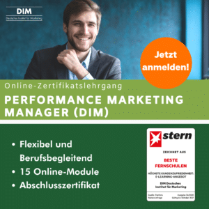 Performance Marketing Manager DIM