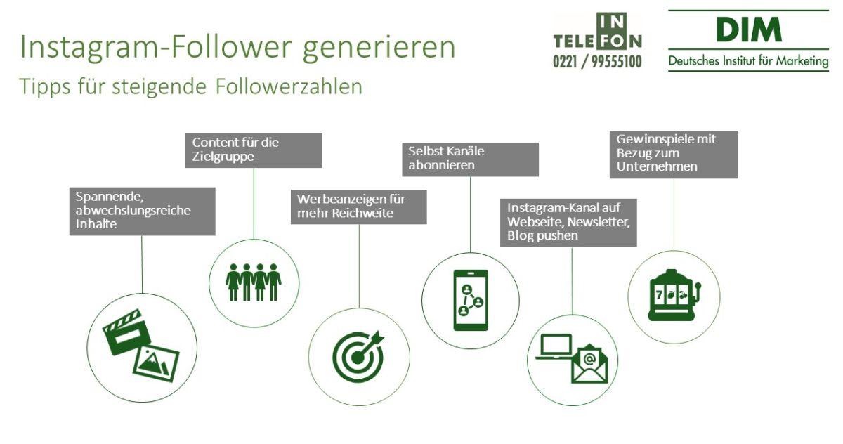 Follower generieren
