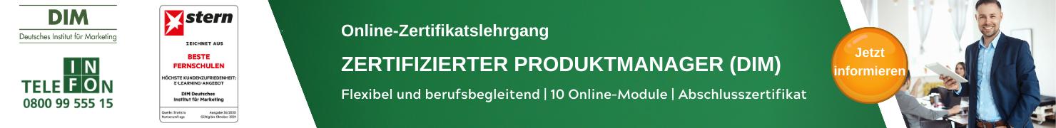 Zertifizierter Produktmanager