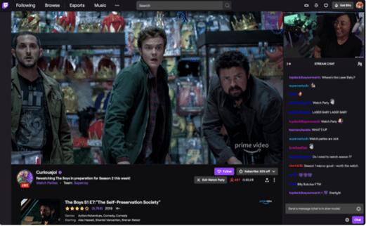 Desktop Video Twitch