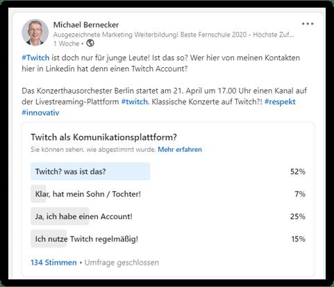 Twitch Kommunikation