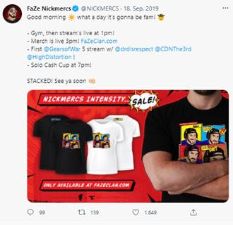 Twitch merchandise