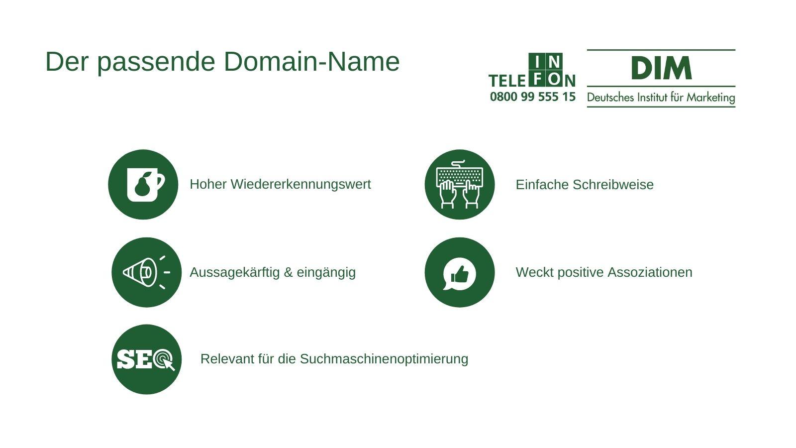 Domain-Namen finden