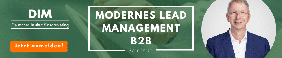 Akquise 4.0 – Modernes Lead Management B2B