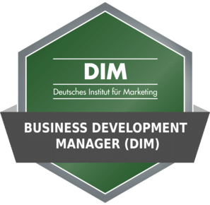 DIM Badge - Business Development Manager (DIM)