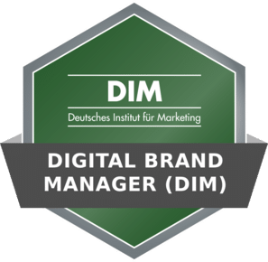 DIM Badge - Digital Brand Manager (DIM)
