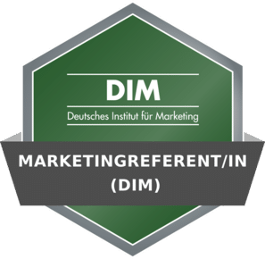 DIM Badge - Fernlehrgang Marketingreferent/in (DIM)