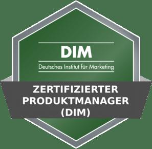 DIM Badge - Zertifizierter Produktmanager (DIM)