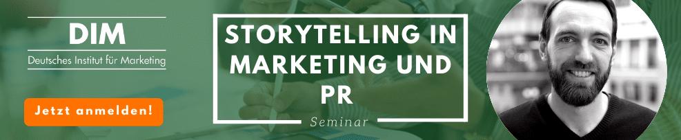 Storytelling in Marketing und PR