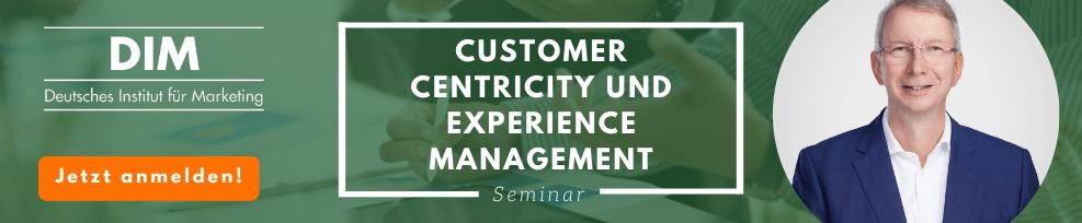 Customer Centricity und Experience Management