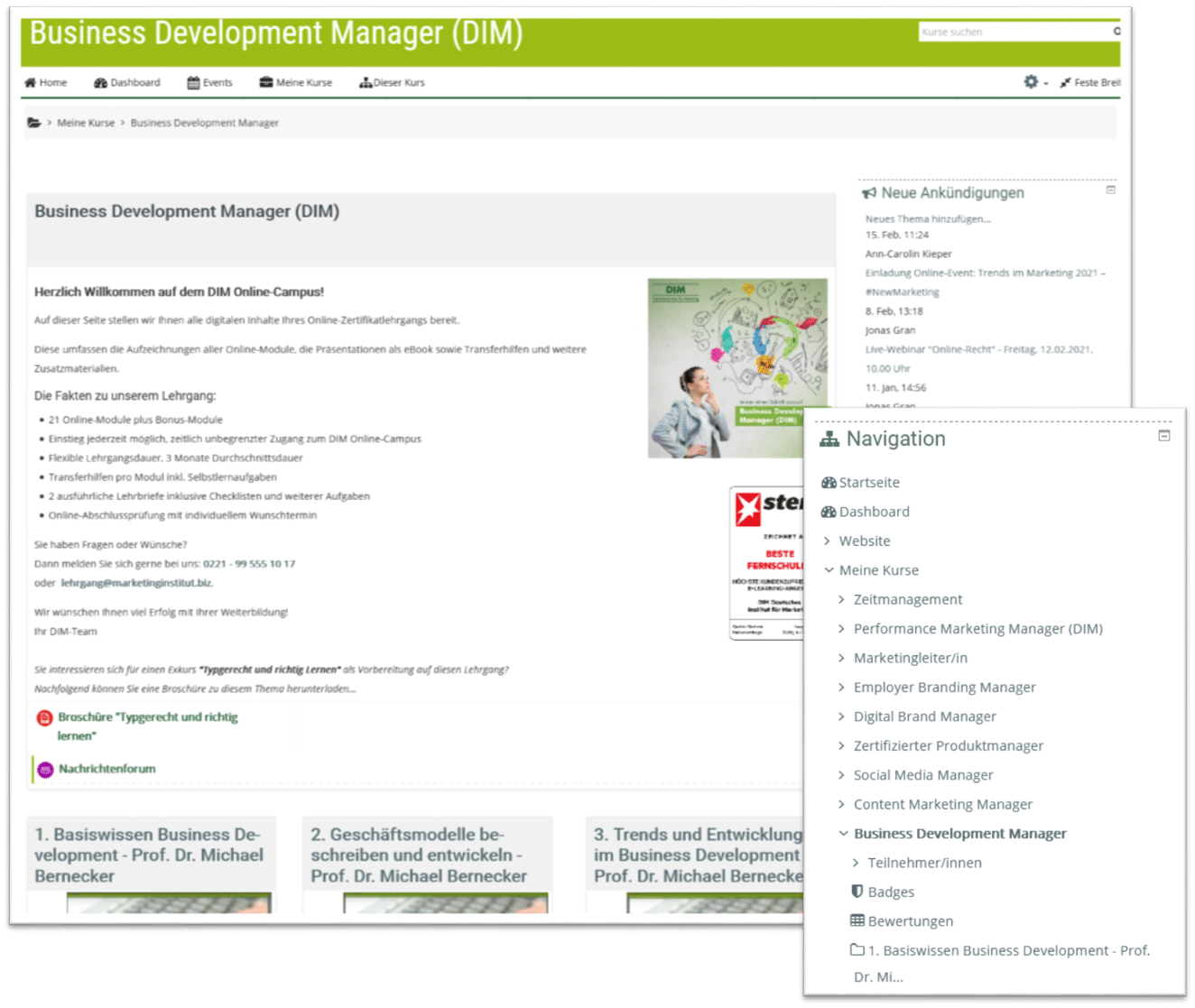 Business Development Manager Campus