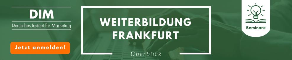 Weiterbildung in Frankfurt
