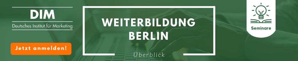 Weiterbildung in Berlin