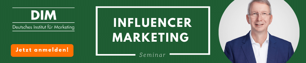 Influencer Marketing Seminar