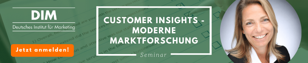Customer Insights – Moderne Marktforschung