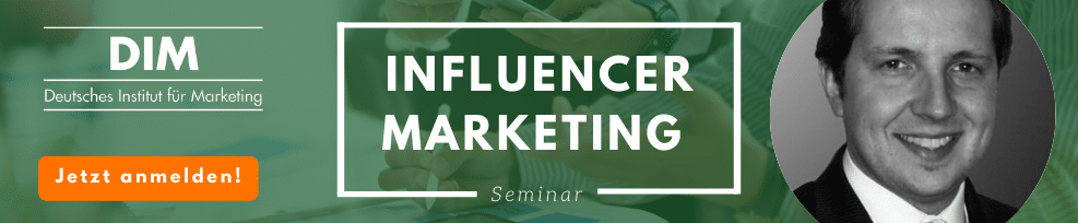 Influencer Marketing Seminar