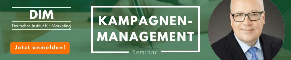 Kampagnenmanagement Seminar