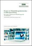 Bernecker/Strzoda/Topac: Einsatz von Weiterbildungsdatenbanken im Bildungsmarketing: Eine Analyse marktrelevanter Weiterbildungsportale aus Anbietersicht