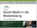 eBook - Social Media in der Weiterbildung