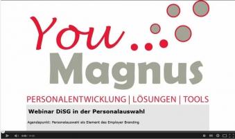 Employer Branding - DiSG in der Personalauswahl
