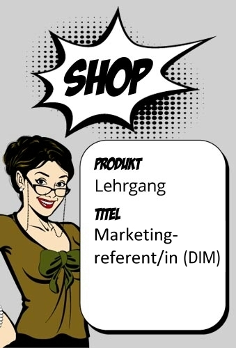 Fernlehrgang Marketingreferent/in (DIM)